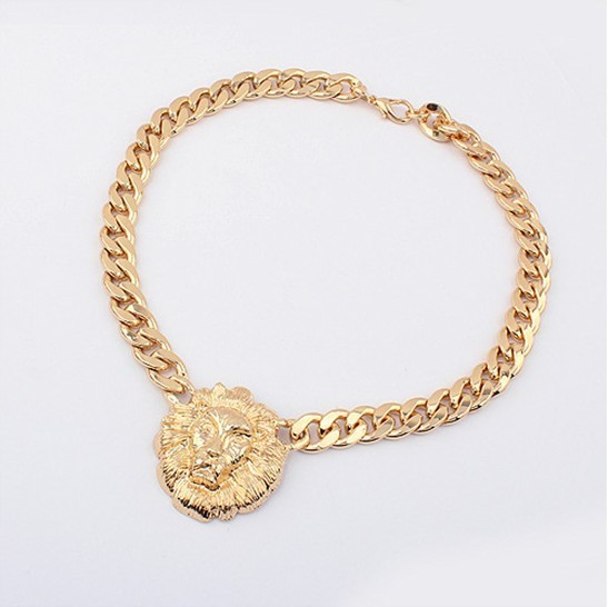 Chain Gold Bow Necklace VGA07008