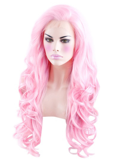 Lace Front Popular Pink VivHair Wig VGW05181