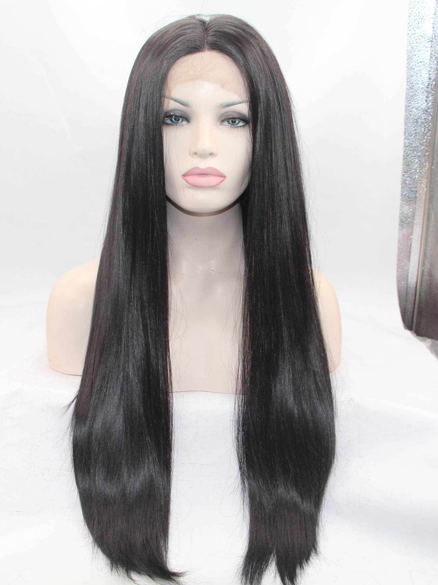 "Charcoal 26"" Straight Wigs Sale"
