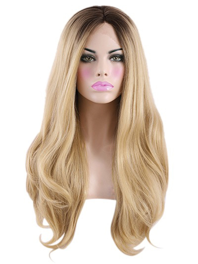 Black To Blonde Lace Front VivHair Wig VGW05092