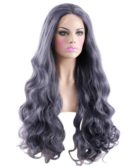 Fashionable Lace Front Colorful VivHair Wig VGW05095