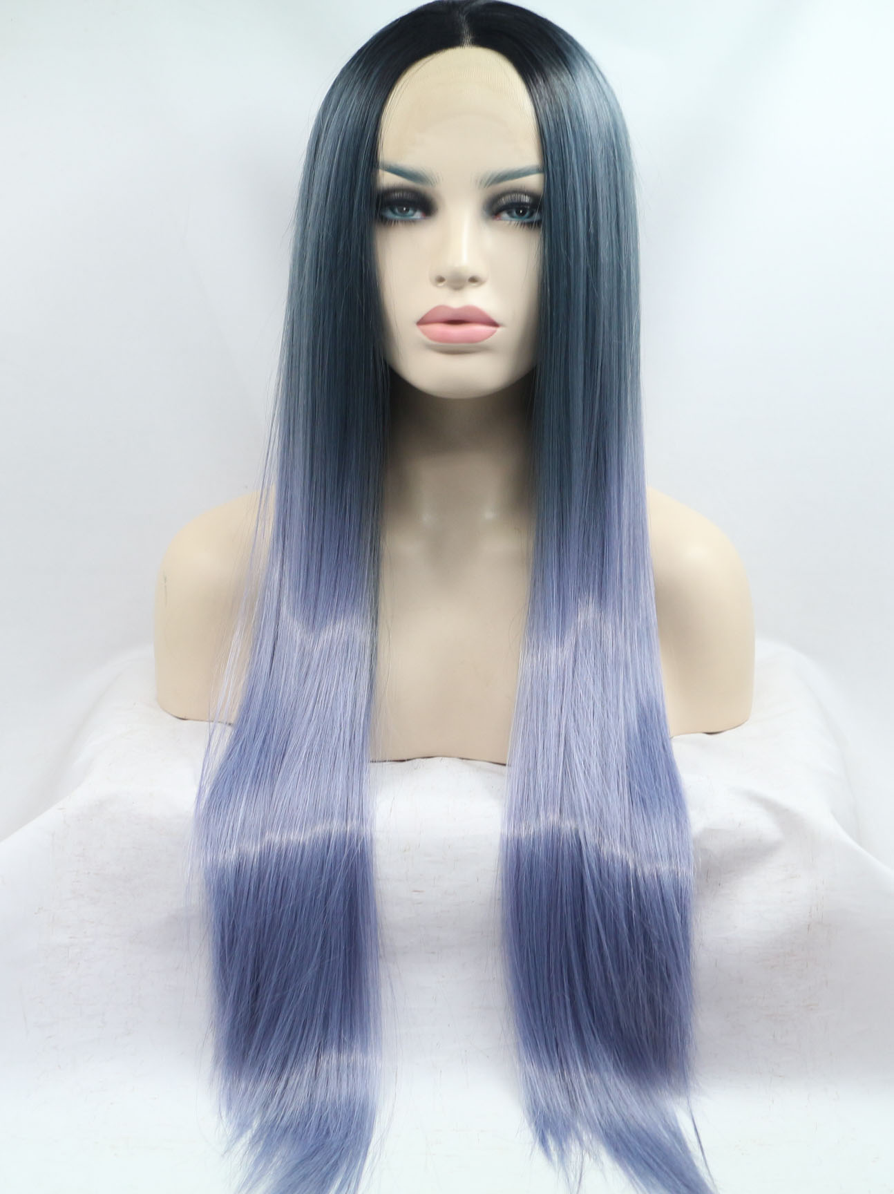 Designed Lace Front Colorful Fashion VivHair Wig VGW05112
