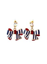 Gold Bow-Knot Earrings VGA07003