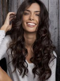 """22"""" Brown Lace Front Wigs VGW06005"""